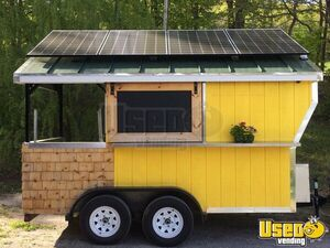 2017- 7' x 12' Food Concession Trailer with Porch for Sale in Rhode Island!!!