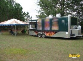 2014 - 8' x 28' Food Concession Trailer for Sale in South Carolina!!!