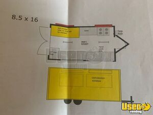 All-purpose Food Trailer Stovetop Florida for Sale