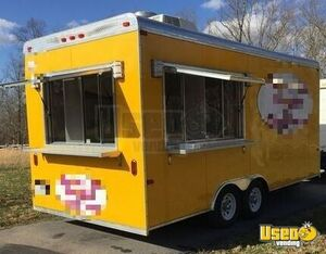 2017 - 8.5' x 18' Turnkey Food Concession Trailer for Sale in Tennessee!!!