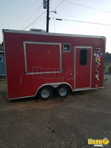 2010 - 8' x 16' Cargo Mate Used Food Concession Trailer for Sale in Texas!!!