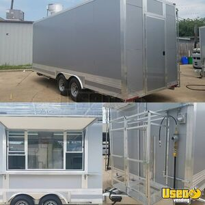 2019 - 8.2' x 20' Mobile Kitchen Food Concession Trailer for Sale in Texas!!!