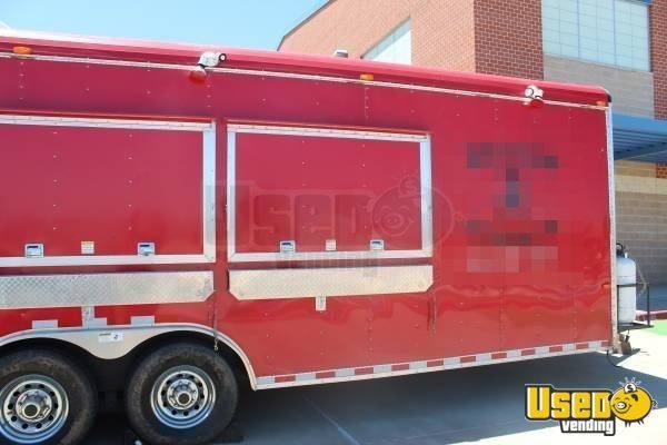 8' x 29' Mobile Kitchen Food Concession Trailer for Sale in Texas!!!