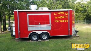 2016 - 8' x 16' Food Concession Trailer for Sale in Texas!!!