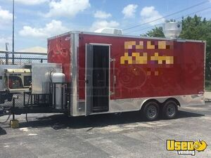 2017 - 18' Food Concession Trailer Used Kitchen Trailer for Sale in Texas!!!