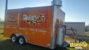 2011 - 8' x 16' Food Concession Trailer for Sale in Texas!!!