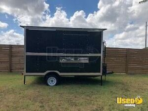 Never Used Custom-Built 2019 8' x 12'  Extra Wide Food Concession Trailer for Sale in Texas!