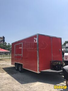 2018 - 8.5' x 16' Food Concession Trailer for Sale in Texas!!!