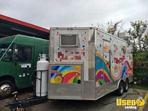 2018 - 8.5' x 16' Freedom Food Concession Trailer for Sale in Texas!!!