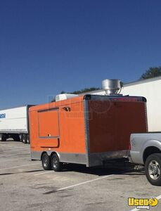 2018 - 8' x 18' Food Concession Trailer Mobile Kitchen for Sale in Texas!!!
