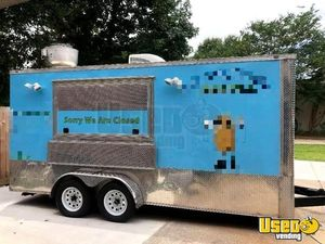 7' x 16' Anvil Food Concession Trailer for Sale in Texas- Turnkey!!!
