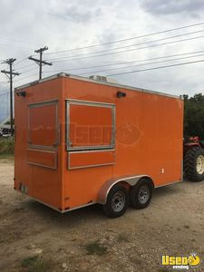 Super Clean 2017 - 7' x 14' Lark Food Concession Trailer for Sale in Texas!