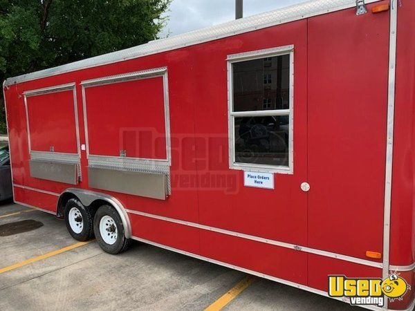 2007 - 8' x 28' Food Concession Trailer for Sale in Texas!!!