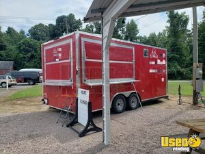 2017 8' x 18' Colony Food Concession Trailer with Pro Fire Suppression System for Sale in Virginia!