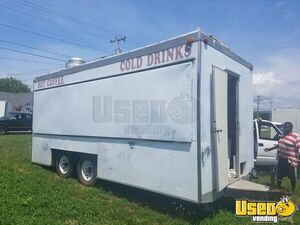 Used 2004 - 8' x 20' Custom-Built Food Concession Trailer for Sale in Virginia!