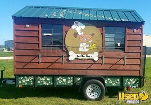 2016 - 6.8' x 12' Concession Trailer for Sale in Wisconsin!!!