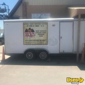 8' x 16' Food Concession Trailer for Sale in Wyoming!!!