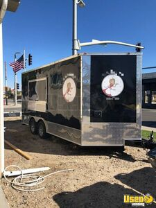 2017 - 8.5' x 16' Food Concession Trailer for Sale in Wyoming!!!