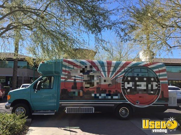 2005 Ford Econoline Kitchen Food Truck with Ansul Pro Fire Suppression System for Sale in Arizona!