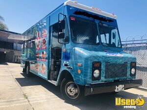 Lightly Used 18' GMC Step Van Kitchen Food Truck with Pro Fire Suppression System for Sale in California!
