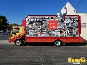 2015 - 20' Isuzu NQR Diesel Catering Food Truck w/ New Professional Kitchen for Sale in California!
