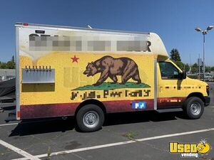 Turnkey Draft Beer Truck Mobile Taproom Keg Truck / Bar on Wheels for Sale in California!!!