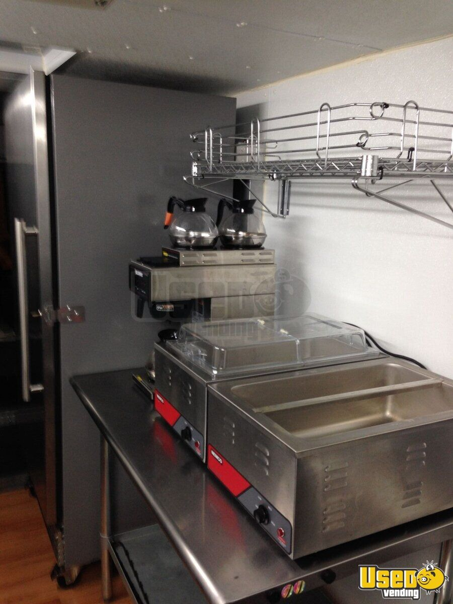All-purpose Food Truck Coffee Machine Ohio Gas Engine for Sale - 11