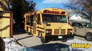 Blue Bird Bus Used Food Truck Mobile Kitchen for Sale in Colorado!!!