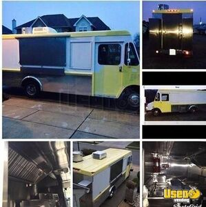 GMC Union City Body Classic Step Van Food Truck with All Stainless Steel Kitchen for Sale in Delaware!