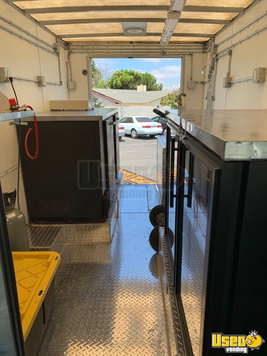 All-purpose Food Truck Diamond Plated Aluminum Flooring California Gas Engine for Sale - 4