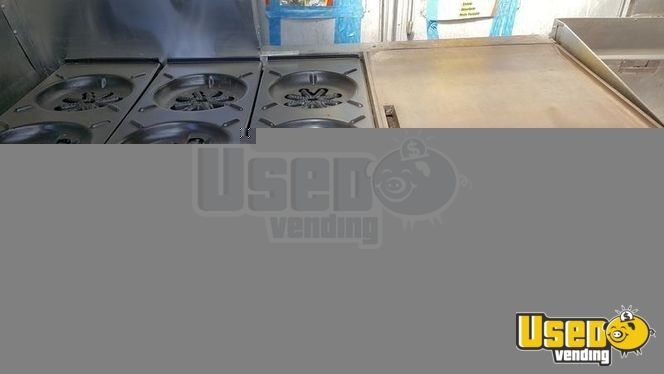 All-purpose Food Truck Flatgrill Utah Gas Engine for Sale - 6