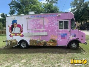 Fully Self-Sufficient GMC Step Van Inspected Kitchen Food Truck for Sale in Florida!!
