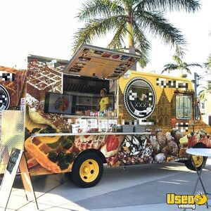 Kitchen on Wheels / Used Food Truck with Commercial-Grade Kitchen Equipment for Sale in Florida!
