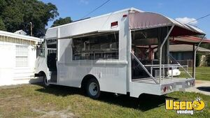 Chevrolet Sidestep Kitchen Food Truck with Porch / Used Mobile Food Unit for Sale in Florida!