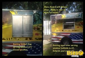 Classic Ford Food Truck with Pro Fire Suppression System for Sale in Florida!
