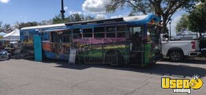 Attention-Grabbing Bluebird Bus All American Diesel Exotic Kitchen Food Truck for Sale in Florida!