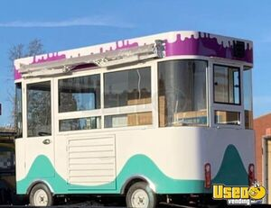2020 - 10' Electric Food or Ice Cream Truck Trolley Caboose / Mobile Vending Unit for Sale in Georgia!!!