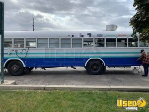 Used Bluebird 35' Kitchen Food Truck Bustaurant with Pro Fire Suppression System for Sale in Idaho!