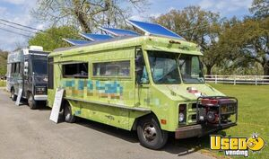Used GMC P3500 24' Stepvan Kitchen Food Truck w/ Pro Fire Suppression System for Sale in Louisiana!