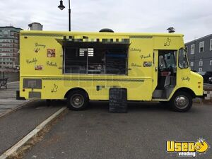 GMC P30 Step Van Food Truck Equipped with All Stainless Steel Appliances for Sale in Massachusetts!
