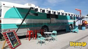 Amazing Loaded 40' Food Truck Mobile Kitchen Bustaurant Catering Bus for Sale is Missouri!