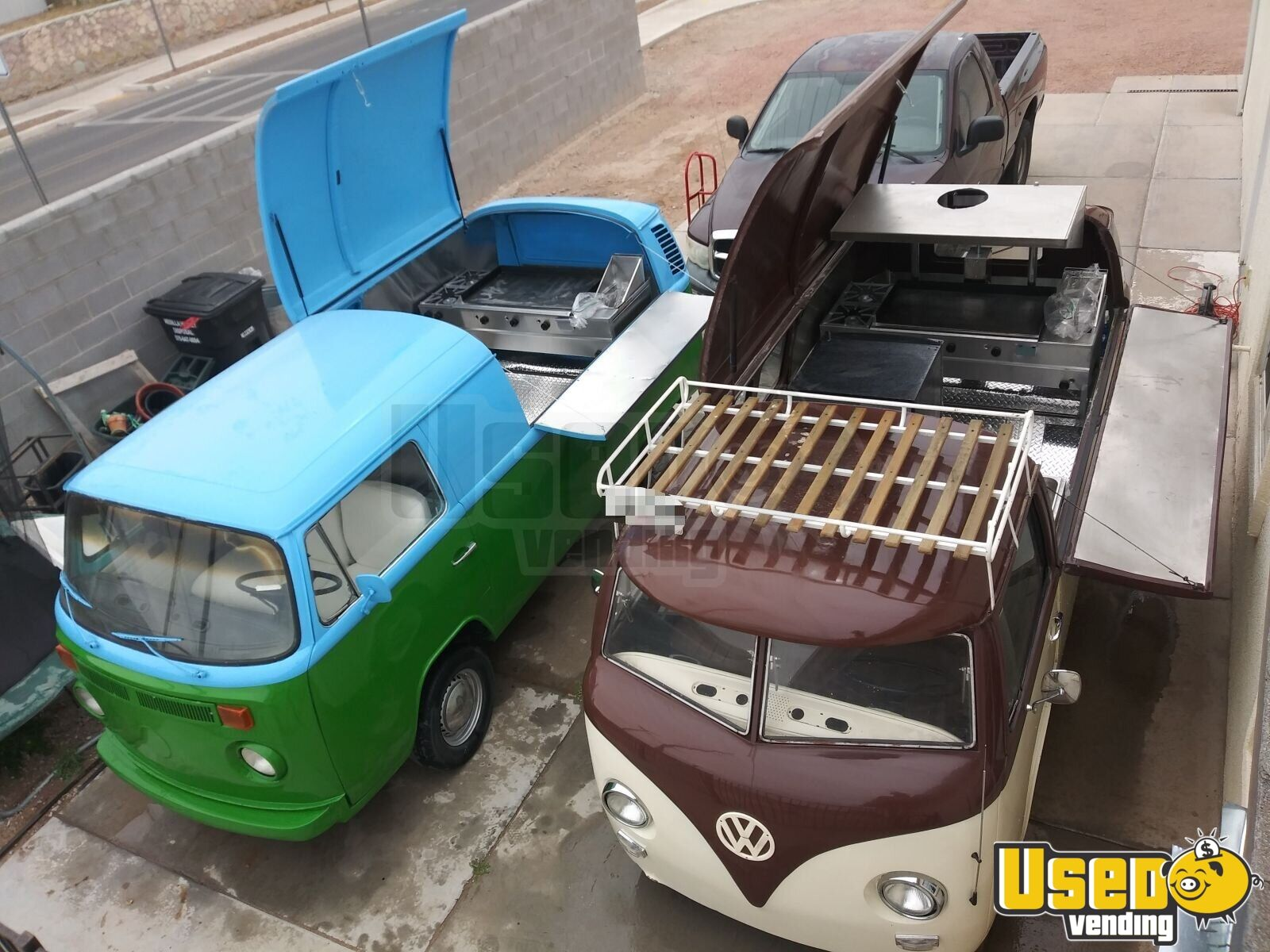Volkswagen Bus Conversion Food Truck for Sale in New Mexico!!!