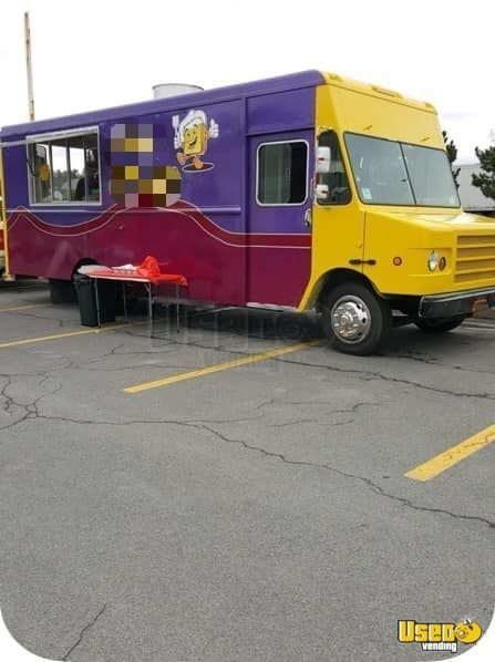 2003 Cummins Diesel Stepvan Food Truck w/ Pro Fire Suppression System for Sale in New York!