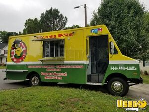 GMC P30 22' Step Van Corn Roasting and Kitchen Food Truck for Sale in North Carolina!