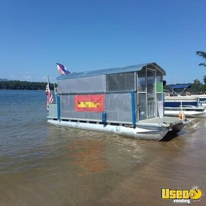 Ready to Work All Purpose Food Boat/Used Floating Restaurant for Sale in North Carolina!