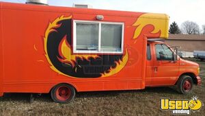 Barely Used Ford E350 Box Truck Mobile Kitchen Unit / Ready to Go Food Truck for Sale in Ohio!