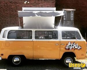 Gorgeous Vintage 1973 - 15' VW Transporter Bus Catering Food Truck for Sale in Pennsylvania!!!