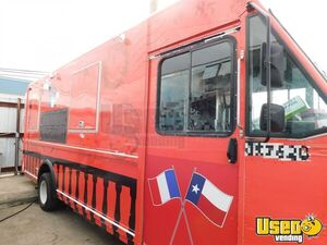 GMC Chevrolet 22' Step Van Crepes Food Truck w/ Fire Suppression System for Sale in Texas!