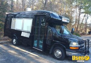 24' Chevrolet 4500 Express Food Truck with Unused Commercial Kitchen for Sale in Virginia!