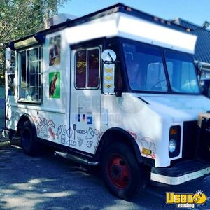 22' Chevrolet P30 Diesel Food Truck / Used Mobile Kitchen for Sale in Virginia!!!